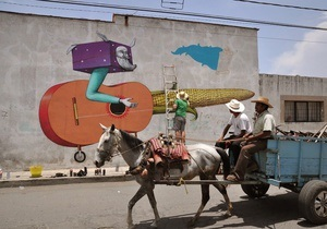 Корреспондент: Уличное движение. Украинские художники украшают своими рисунками стены по всему миру