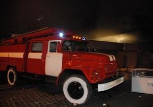 В Сумской области произошел пожар на заводе по производству пороха