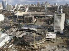 Евро-2012: Демонтаж стройки перед НСК Олимпийский начнется 18 марта