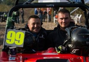Янукович-младший победил в чемпионате Украины по трофи-рейдам