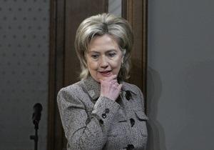 Клинтон выразила надежду, что подписание договора по СНВ состоится в апреле