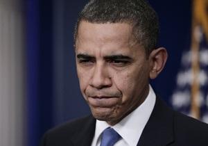 Опрос: Рейтинг Барака Обамы падает до рекордного минимума