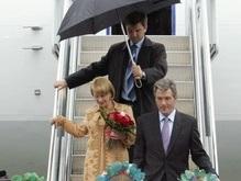 График официальных визитов Ющенко на июнь