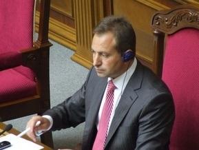 Томенко: Партией Балоги уже управляет Янукович, а не Ющенко