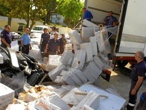 На границе Франции изъята рекордная партия кокаина: наркотик спрятали в кофейных зернах