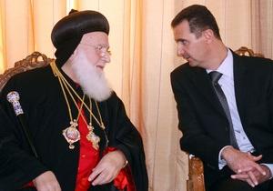 Скончался патриарх сирийских православных христиан