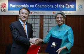 Компания LG Electronics стала партнером премии ЮНЕП «Чемпионы Земли»