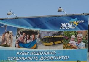 Среди партий украинцев больше всего раздражает реклама регионалов - исследование