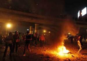 Египет - Египетские военные расстреляли Братьев-мусульман, протестовавших возле здания, где удерживают Мурси, не менее 16 погибших