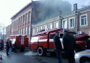 В центре Одессы в результате пожара погиб человек