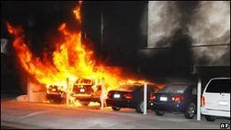 Арестован подозреваемый в поджогах в Лос-Анджелесе