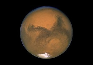 Жизнь на Марсе - комета врежеться в Марс: Столкновения с кометами могут сделать Марс похожим на Землю