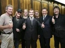 Deep Purple и Тина Тернер выступили для Путина и Медведева