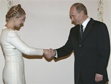 Тимошенко и Путин встретятся в субботу