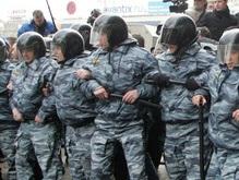 ОМОН взял под охрану Посольство Грузии в Москве