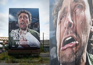 В Канаде установили плачущий билборд