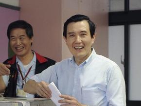 Ху Цзиньтао направил главе администрации Тайваня телеграмму с поздравлениями
