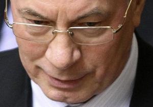 Азаров подсчитал темпы роста ВВП Украины с начала года