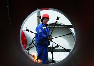 Газпром начал укладку труб газопровода Nord Stream по дну Балтийского моря