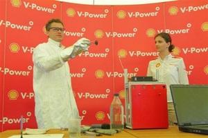 Shell демонстрирует фирменные характеристики топлива Shell V-Power и Shell V-Power Diesel