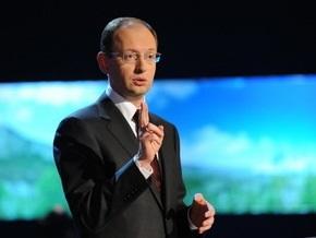 Яценюк заявил, что программа МВФ поможет отключить  печатный станок