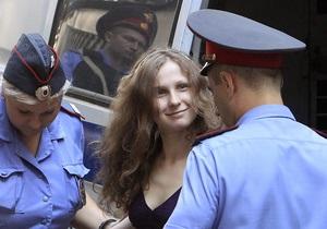 Pussy Riot - Марию Алехину этапировали в новую колонию