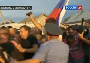 Античеченские протесты в Пугачеве: Местные власти ограничивают продажу алкоголя