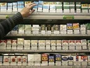 Украинцы могут бесплатно ввезти в Эстонию только две пачки сигарет