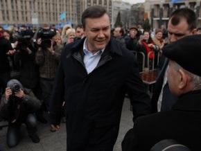 В штабе Януковича рассчитывают на поддержку 40% киевлян