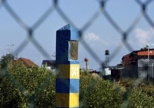 На украинско-российской границе установили 19 погранзнаков