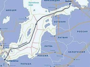 Швеция разрешила прокладку Северного потока в своих водах