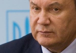 Янукович поручил Клюеву подготовить программу по предупреждению оползней