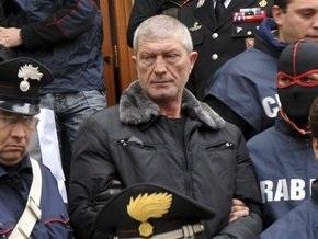 В итальянской тюрьме повесился глава мафиозного клана