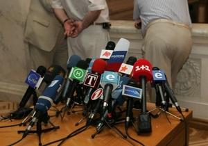 Ъ: Оппозиция требует по 45 минут эфира в неделю для каждой фракции