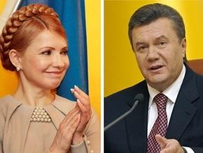 Опрос: Рейтинги Януковича и Тимошенко повысились, а Яценюка - снизился