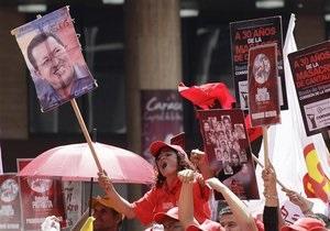 Власти Венесуэлы рассказывают о  хорошем настроении  Чавеса