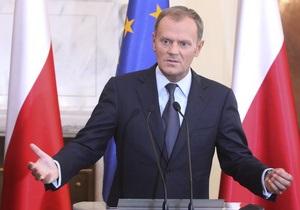Коморовский заявил, что Туск останется премьер-министром Польши