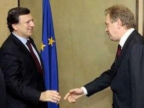Баррозу и Пибалгс поприветствовали подписание газового протокола