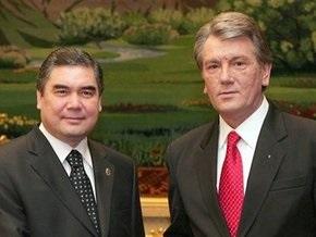 Ющенко договорился об открытии прямого авиасообщения с Туркменистаном