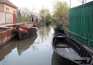 Дунай в Одесской области вышел из берегов