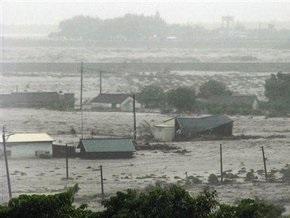 Жертвами тайфуна Моракот на Тайване стали более 300 человек