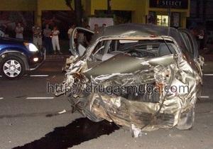 В районе Конча-Заспы произошло ДТП с участием четырех автомобилей: погиб человек