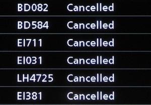 Украинские авиакомпании аннулируют рейсы в Западную Европу