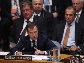 Медведев: Россия готова уменьшить  арсенал стратегических наступательных вооружений более чем в три раза