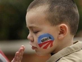 Американские дети проголосовали за Обаму