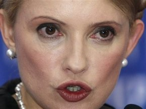 Тимошенко сравнила регионалов с сомалийскими пиратами