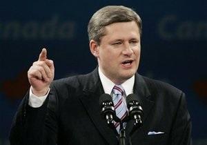 УП: Премьер Канады раскритиковал Януковича за преследование и угрозы в адрес политических оппонентов