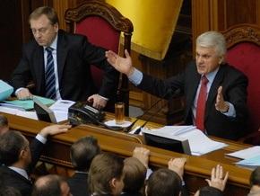 Литвин: Я буду пытаться навязать, предложить, мотивировать и убедить, что Рада должна работать