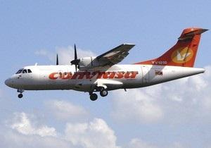 В Венесуэле после удара молнии самолет с пассажирами совершил аварийную посадку