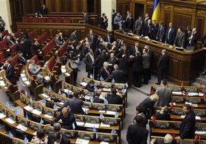 ВР рассмотрела половину  из 1336 поправок к законопроекту о местных выборах (обновлено)